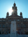 glasgow city chambers cenotaph. scotland uk town halls government buildings british architecture architectural cenotaph central scottish scotch scots escocia schottland great britain united kingdom