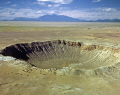 meteor crater arizona usa. american yankee travel seismic flagstaff asteroid planetoid meteorite earth crust usa united states america