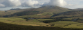 snaefell mountain druidale farm isle man panorama countryside rural environmental uk moorland hills manx walking england english great britain united kingdom british