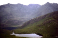 isle skye glen sligachan strath na creitheach. mountains countryside rural environmental uk minginish cuillin hills scotland scottish sgurr stri eilean sgitheanach highlands islands scotch scots escocia schottland great britain united kingdom british