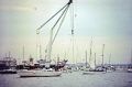 flotilla hoping witness recovery mary rose september 1982 underwater marine diving isle wight portsmouth harbour solent tog mor henry eighth viii pompey hampshire hamps england english great britain united kingdom british