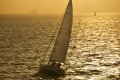 boats solent sunset uk. yachts yachting sailing sailboats marine misc. uk sea shipping boat isle wight england english great britain united kingdom british