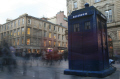 police box buchanan street. glasgow misc. calll central scotland scottish scotch scots escocia schottland great britain united kingdom british