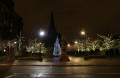 glasgow cathedral square christmas. uk cathedrals worship religion christian british architecture architectural buildings church central scotland scottish scotch scots escocia schottland great britain united kingdom