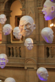 floating heads kelvingrove museum art galleries. glasgow. scotland misc. glasgow central scottish scotch scots escocia schottland great britain united kingdom british