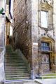 public stairway tulle france french buildings european travel correze limousin steps mediaeval medieval passageway la francia frankreich europe