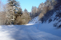 windscreen road mont-dore mont dore montdore col guéry winter afternoon french landscapes european travel volcans auvergne parc regional naturel monts-dore monts dore montsdore driving car voiture france la francia frankreich europe