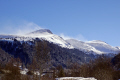blown snow les monts dore puy sancy french landscapes european massif central mountains volcans auvergne parc regional naturel tache capucin ferrand winter spindrift france la francia frankreich