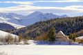 lac guéry puy sancy january afternoon french landscapes european travel lake volcans auvergne parc regional naturel monts-dore monts dore montsdore winter snowy massif central mountains france la francia frankreich europe