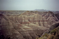 badlands south dakota. wilderness natural history nature misc. national park np i90 interstate geology erosion strata sedimentation volcanic ash shales dakota usa united states america american