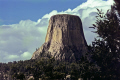 devils tower national monument wilderness natural history nature misc. black hills basalt volcanic plug close encounters grizzly bear hexagonal south dakota usa united states america american