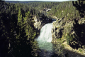 yellowstone national park upper falls river. waterfalls cascade cataracts geology geological science misc. np wyoming usa water grand canyon united states america american