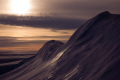midnight sun brunt iceshelf polar natural history nature misc. marine icecap antarctic antarctica united kingdom british
