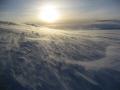 drifting snow polar icecap antarctic natural history nature misc. snowscape antarctica united kingdom british