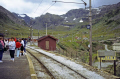 myrdal station norway. waiting connection flåm wilderness natural history nature misc. flam nutshell sognefjord rail train journey travel norwegian norge norway kongeriket europe european norwegan