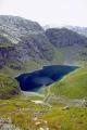 pretty blue lake trail buarbreen glacier. wilderness natural history nature misc. buardalen folgeffhan hardangerfjorden norwegian norge bergen folgefonn norway kongeriket europe european norwegan