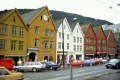bergen norway. traditional buildings overlooking harbour. european travel city norwegian bryggen norge harbour port norway kongeriket europe norwegan