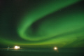 aurora austalis halley research station antarctica polar natural history nature misc. southern lights wonder world antarctic night united kingdom british