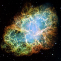 crab nebula m1 taken hubble space telescope science misc. hst nasa cosmology astronomy nebulosity pulsar supernova chinese astronomers usa united states america american