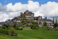 town turenne limousin france french landscapes european travel correze mediaeval medaeval chateau hilltop eglise la francia frankreich europe