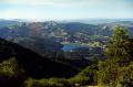 looking north mt tamalpais near san francisco wilderness natural history nature misc. marin peninsula county headlands california californian usa united states america american
