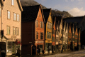 facades bryggen hanseatic wharf bergen norway. unesco world heritage site. uk museums british architecture architectural buildings fjord norway kongeriket norge europe european norwegan