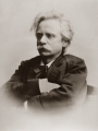edvard hagerup grieg 1843-1907 1843 1907 18431907 portrait norwegian composer. edward musicians celebrities celebrity fame famous star people persons fjord norway kongeriket norge europe european norwegan