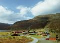 østerbø tourist resort upper aurland valley sognefjord. travel fjord norway kongeriket norge europe european norwegan