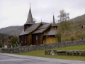 old church hol geilo norway. travel central norway kongeriket norge europe european norwegan