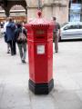 victorian letter box second oldest shrewsbury post office royal mail uk media communications shropshire england english great britain united kingdom british
