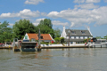 reedham ferry inn norfolk uk rivers waterways countryside rural environmental cable river yare broads crossing car vehicle foot passenger fens east anglia england english great britain united kingdom british