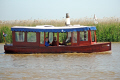 renovated steam boat reedham ferry river yare norfolk uk rivers waterways countryside rural environmental leisure boating broads fens east anglia england english great britain united kingdom british