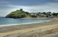 criccieth north wales beach castle seascapes scenery scenic underwater marine diving sand seaside britain bay gwynedd welsh país gales great united kingdom british