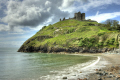 criccieth castle north wales seascapes scenery scenic underwater marine diving fort hill bay rocks gwynedd welsh país gales great britain united kingdom british