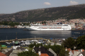 msc lirica visiting bergen norway. travel fjord norway kongeriket norge europe european norwegan