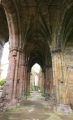 melrose abbey. uk abbeys churches worship religion christian british architecture architectural buildings ruins scottish history borders scotland scotch scots escocia schottland great britain united kingdom
