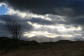 sunburst beinn toaig mountains countryside rural environmental uk munro winter argyll bute argyllshire scotland scottish scotch scots escocia schottland great britain united kingdom british