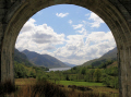 looking glenfinnan viaduct loch shiel scottish lochs british lakes countryside rural environmental uk valley argyll bute argyllshire scotland scotch scots escocia schottland great britain united kingdom