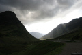 sunburst glencoe. mountains countryside rural environmental uk glencoe argyll bute argyllshire scotland scottish scotch scots escocia schottland great britain united kingdom british