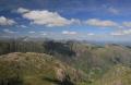 looking aonach dubh gearr glencoe. ben nevis seen left picture. mountains countryside rural environmental uk glencoe argyll bute argyllshire scotland scottish scotch scots escocia schottland great britain united kingdom british