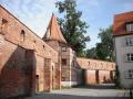 town walls memmingen bavaria german deutschland european travel bayern germany europe germanic