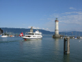 harbour lindau bavaria german deutschland european travel bodensee lake constance bayern germany europe germanic