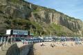 hastings motorboat yacht club british beaches coastal coastline shoreline uk environmental sussex home counties england english angleterre inghilterra inglaterra united kingdom