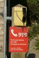 emergency phone uk services 999 cornwall cornish england english angleterre inghilterra inglaterra united kingdom british