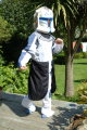 child star wars outfit costumes costumed united kingdom british