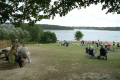 bewl water picnic area british lakes countryside rural environmental reservoir kent england english angleterre inghilterra inglaterra united kingdom