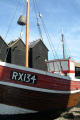 fishing boat net sheds hastings boats marine rx134 sussex home counties england english angleterre inghilterra inglaterra united kingdom british