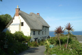 church cove uk cottages british housing houses homes dwellings abode architecture architectural buildings lizard cornwall cornish england english angleterre inghilterra inglaterra united kingdom