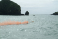 sea rescue casualty water fires flare rnli coastguard lifeboat uk emergency services lizard cornwall cornish england english angleterre inghilterra inglaterra united kingdom british