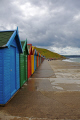 row brightly painted beach huts promenade whitby north yorkshire unusual british buildings strange wierd uk seaside resort holiday england english angleterre inghilterra inglaterra great britain united kingdom grande-bretagne grande bretagne grandebretagne großbritannien gran bretagna bretaña